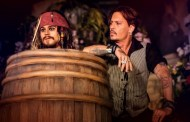 Johnny Depp Makes Surprise Visit to Disneyland Paris