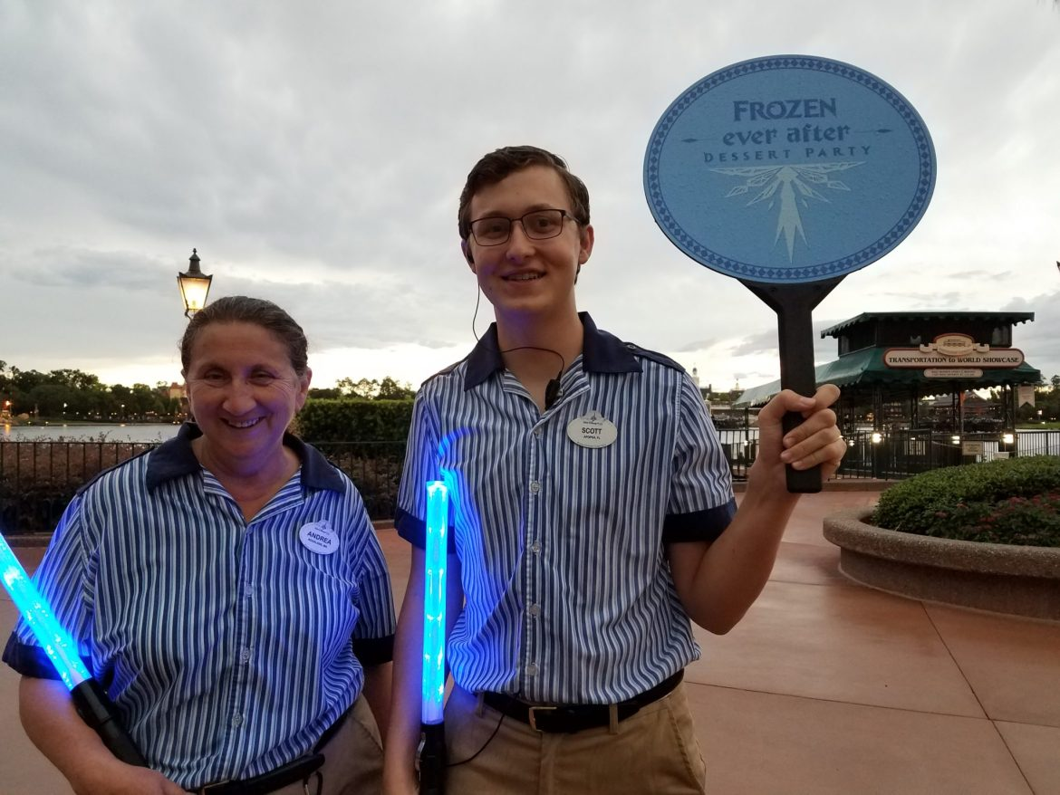 Epcot's Frozen Ever After Dessert Party Review