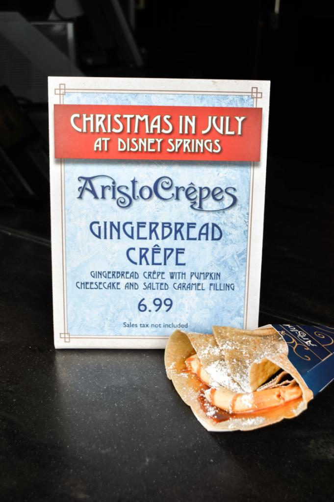 Gingerbread Crepes at AristoCrepes Will Get You in the Holiday Spirit!