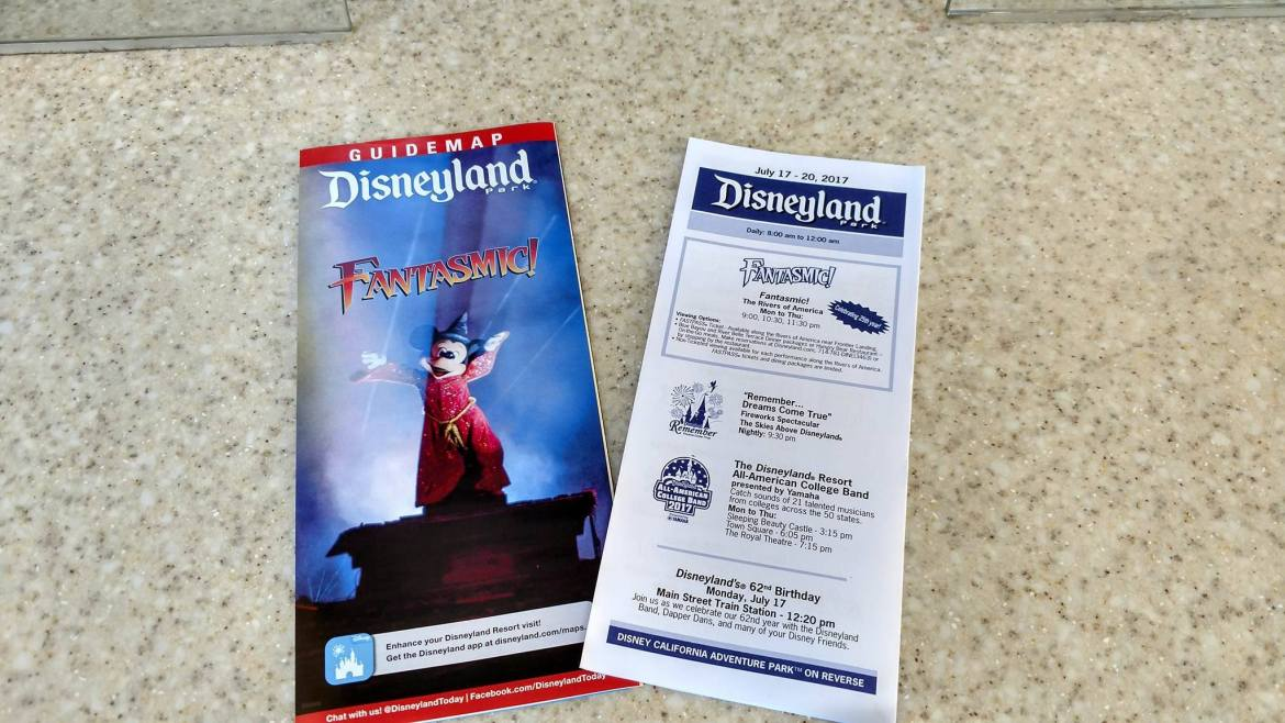 First Look at New Disneyland Park Maps for the Return of Fantasmic!