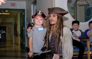 Johnny Depp Makes Surprise Appearance at Children's Hospital