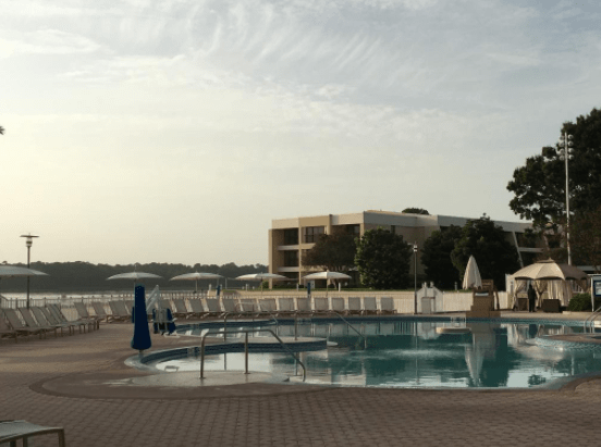 Get Energized for Your Day at the Parks With Morning Water Aerobics Classes at Disney's Contemporary Resort