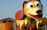 See the Slinky Dog Dash Coaster Coming to Hollywood Studios' Toy Story Land in Action!