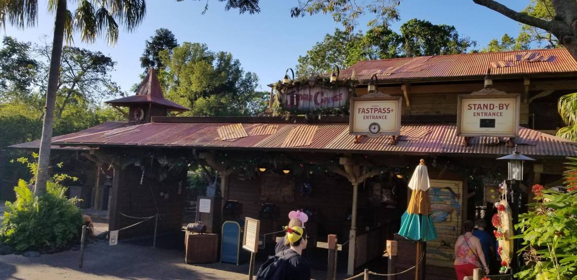 Take a Ride on the first Jingle Cruise of the Season