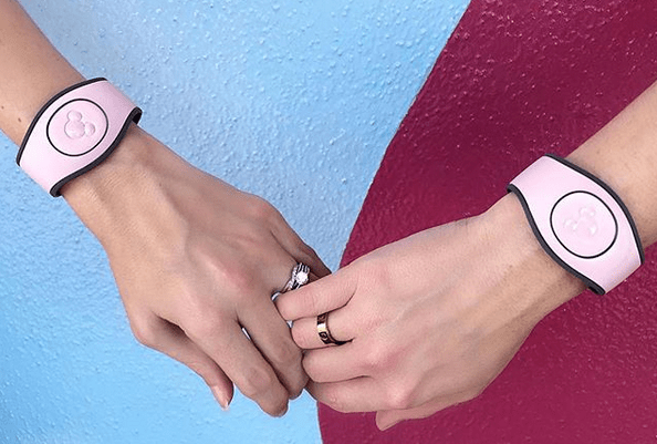 Move Over Rose Gold Ears, 'Millennial Pink' MagicBands are Here