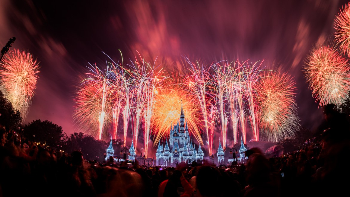 Magic Kingdom Testing Fireworks tomorrow!