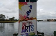 The Art and Decorations of Epcot's International Festival of the Arts