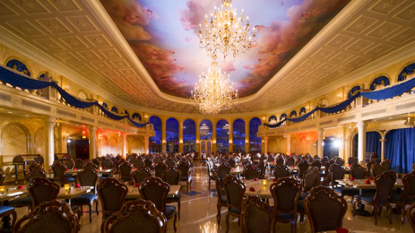 Be Our Guest Restaurant Removes Breakfast, Now Serving Table Service For Lunch And Dinner be our guest