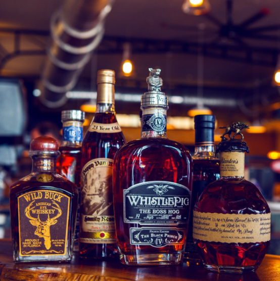 Next Time You Visit Disney Springs Stop by The Polite Pig and Check Out Their Bourbon Bar