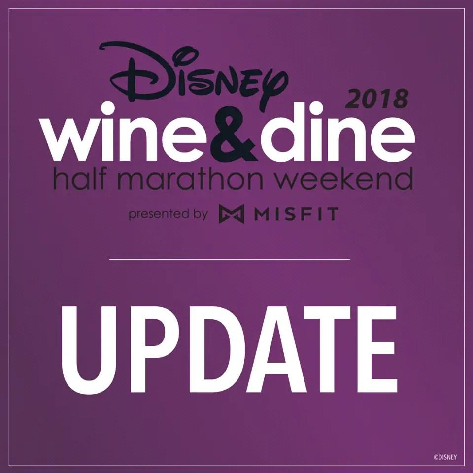 Registration for runDisney Wine & Dine Weekend Opens Next Week
