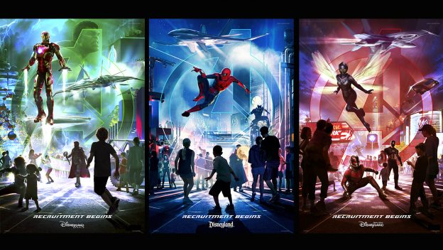New Super Hero Themed Land Coming to Disneyland and Other Disney Parks