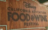 Disney California Adventure Food and Wine Festival Food Menus