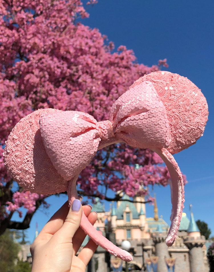 Millennial Pink 'Ears' are Now Available at Walt Disney World!