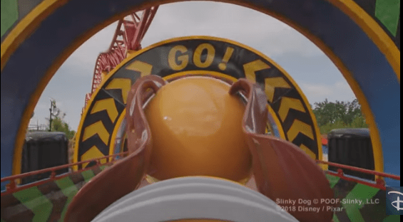 VIDEO: Come Take a Ride on Slinky Dog Dash at Toy Story Land