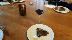 Skirt Steak and Red