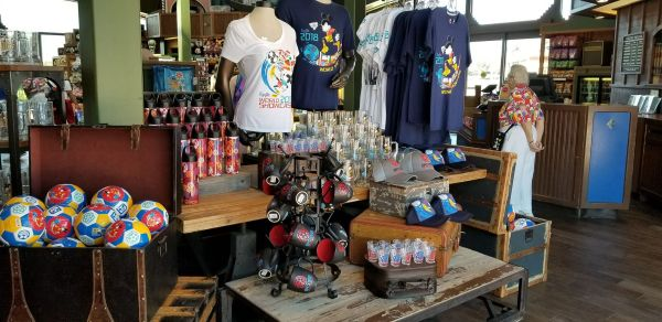 World Cup Inspired Mickey Merchandise