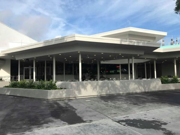 Cosmic Ray's outdoor seating