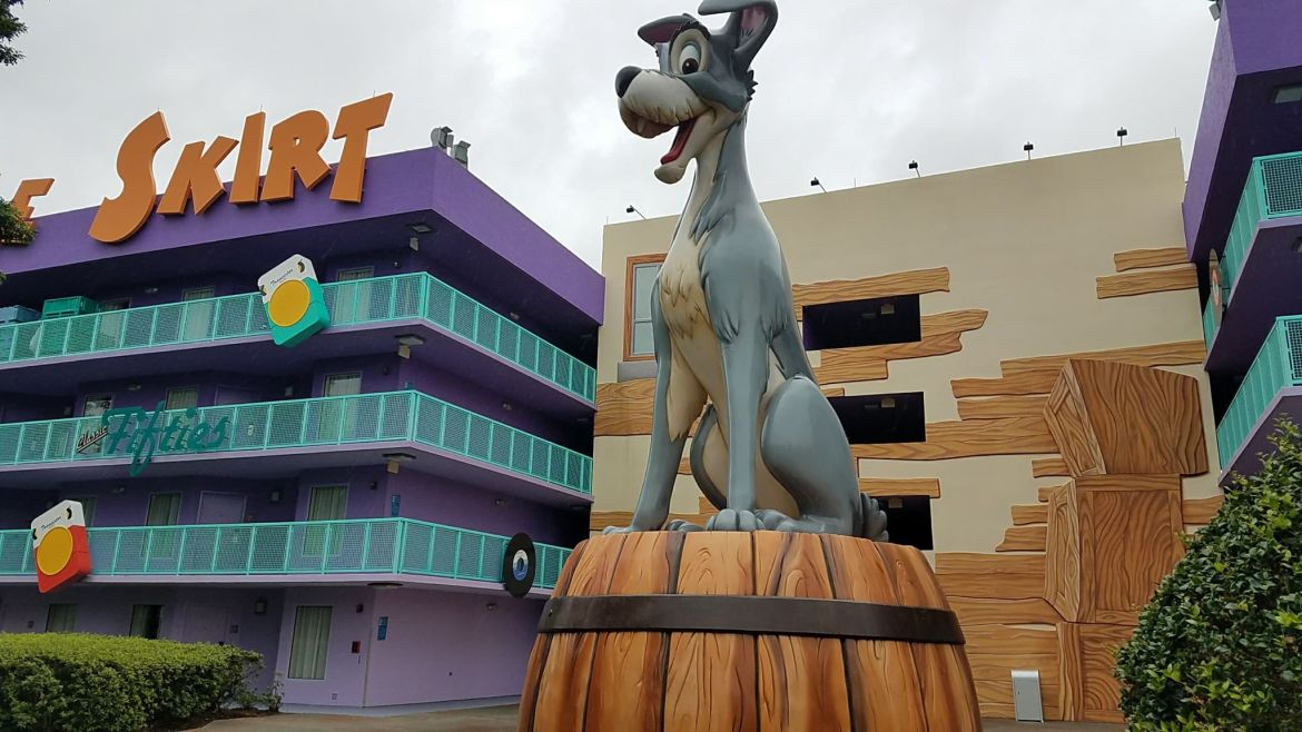 Update To Room Refurbishments at Disney's Pop Century Resort