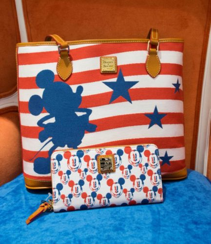 Mickey Mouse Dooney and Bourke Americana Collection