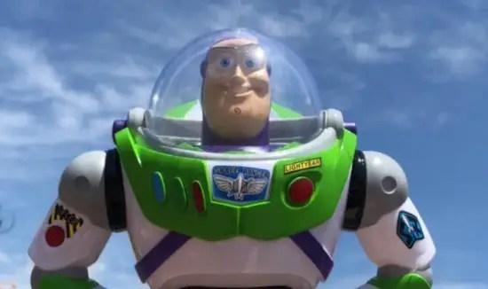 Buzz Lightyear Bubble Wand
