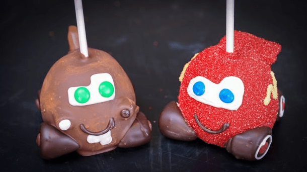 Cars Candy Apples
