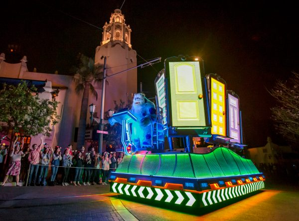 Curtain Closing On Paint The Night Parade