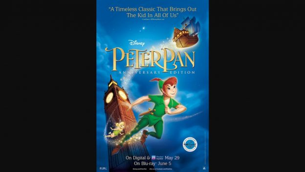 Celebrate Peter Pan's 65th Anniversary with Special Disney World Festivities and DVD Blu-ray Release 1