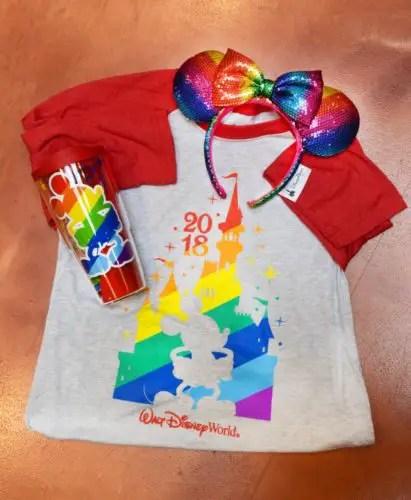 New Rainbow Mickey Merchandise Coming To Disney Springs 1