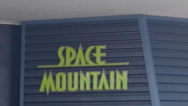 Exit from Space Mountain