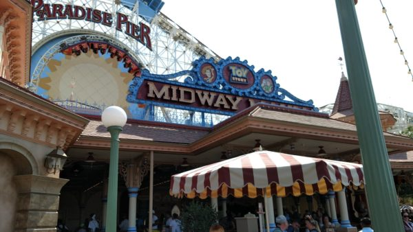 Disneyland Toy Story Midway Mania Closures