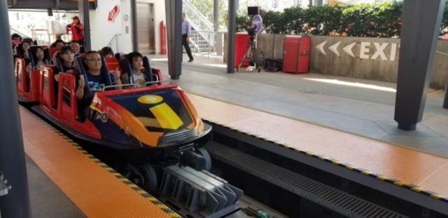 VIDEO and PHOTOS: First Look At The Incredicoaster In Pixar Pier 13
