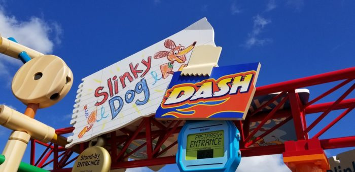 Photos: A First Look at Slinky Dog Dash in Toy Story Land