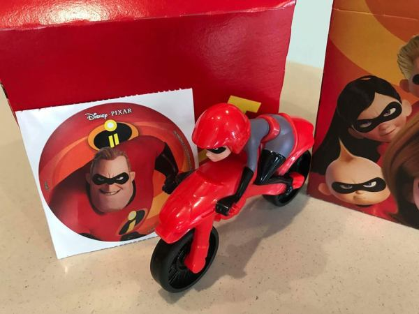 McDonald's Introduces Incredibles 2 Happy Meal Toys