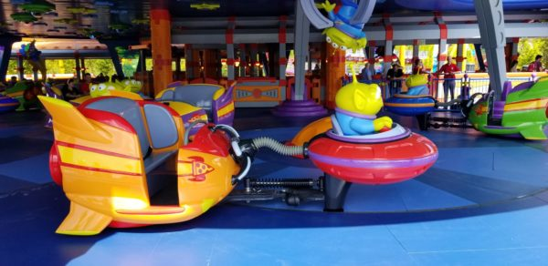 First Look At Alien Swirling Saucers In Toy Story Land! 5