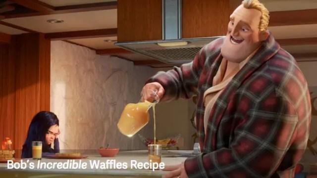 Incredible Waffle Recipe