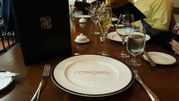 Disney World Thanksgiving meal