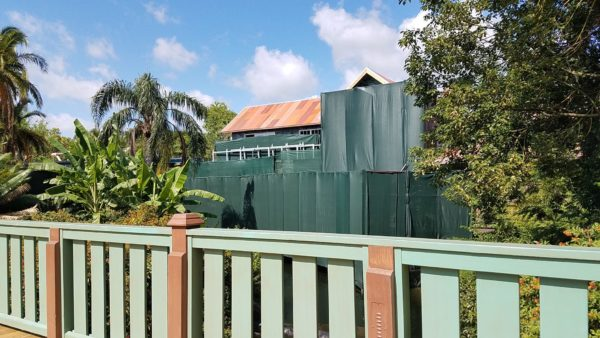 Construction Update For Rumored Club 33 Location At Magic Kingdom 2