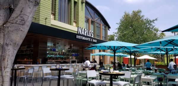 Outdoor Seating Area At Naples Gets A Fresh New Look 1