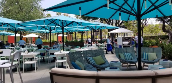 Outdoor Seating Area At Naples Gets A Fresh New Look 2