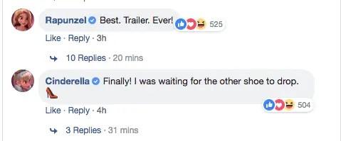 Wreck-It Ralph 2 trailer Disney Princesses reactions