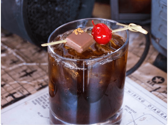 Jock Lindsey's Hangar Bar Coffee Old Fashioned