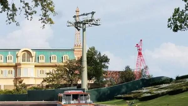 Construction Update: Disney Skyliner At Epcot's International Gateway 3