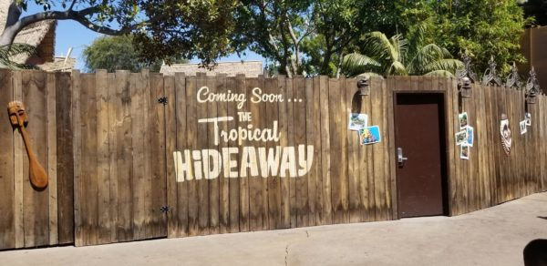 Construction Update On The Tropical Hideaway At Disneyland 1