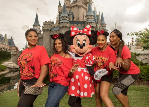 Tamar and Toni Braxton Vist Walt Disney World