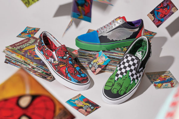 Marvel Vans Collection