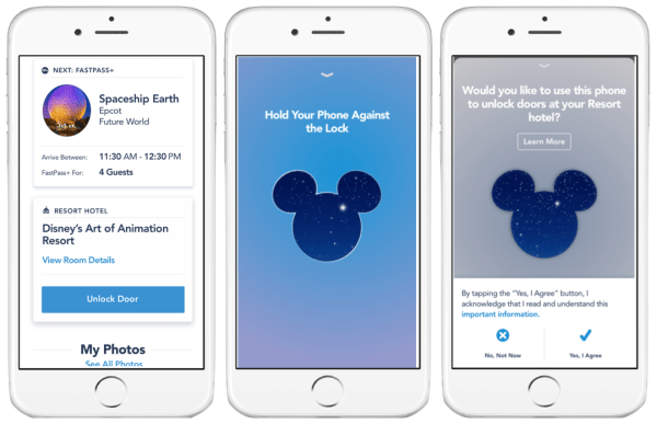 Unlock Feature Via the My Disney Experience App Now Expanded to More Disney Resorts 1