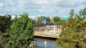 PHOTOS: Update on the Generation Gap Bridge Disney Skyliner Construction 3