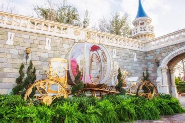 Cinderella's Coach photo op