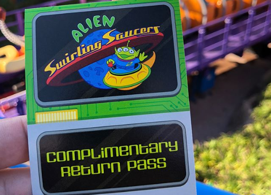 complimentary return pass