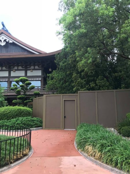 Japanese Restaurant construction update
